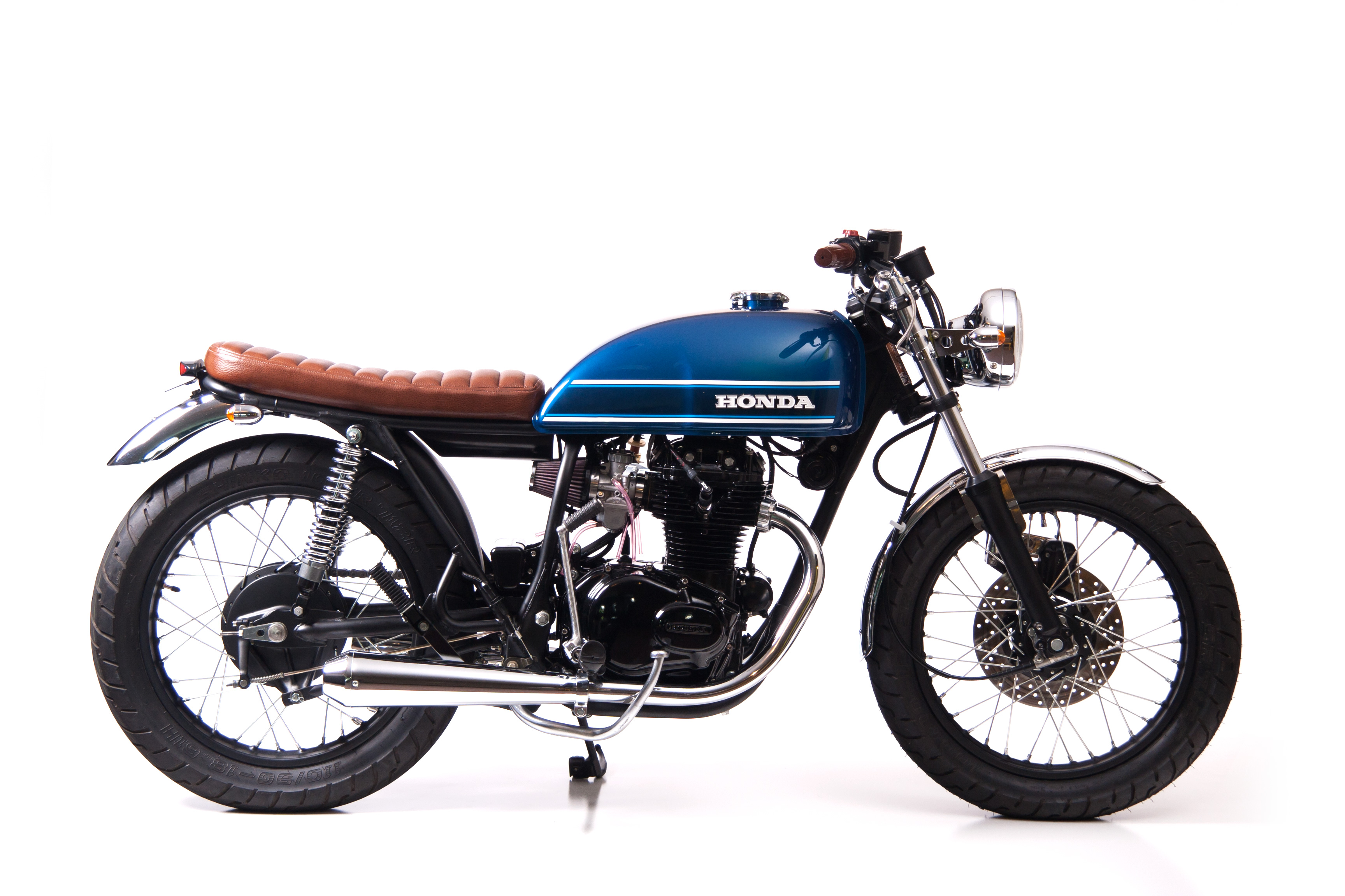 Custom restored Honda CB360T
