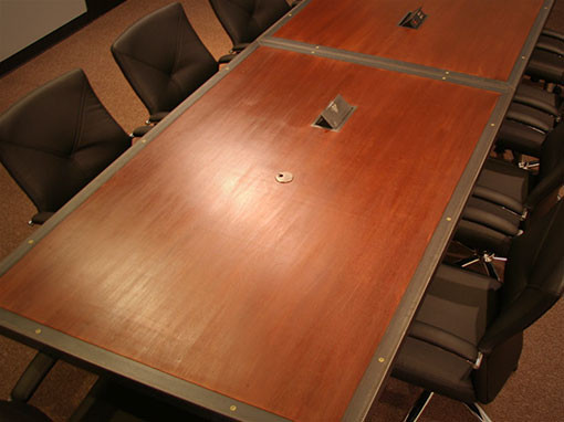Custom 12′ Conference Table