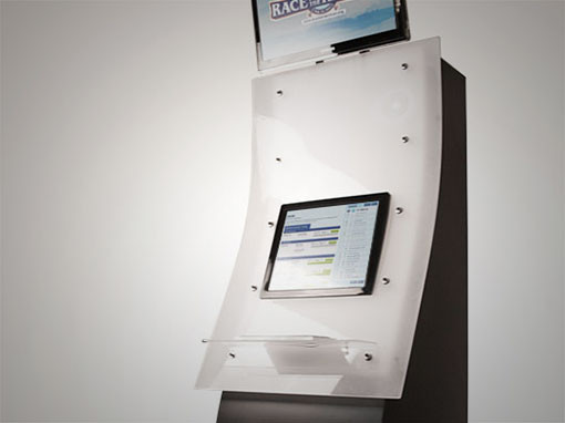 Touchscreen Trade Show Kiosk