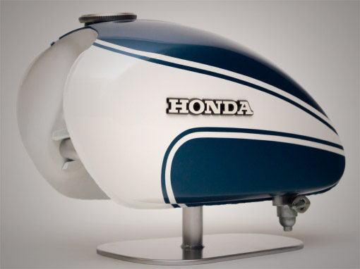 Honda CL125 Tank Restoration